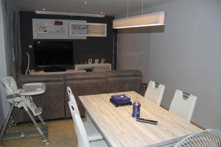 lampara de techo a juego con los muebles