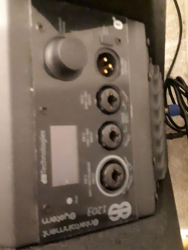 ES 1203 db technologies pair