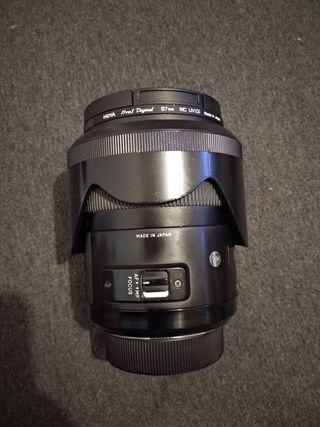 Sigma Art 35mm F/1.4 para Nikon