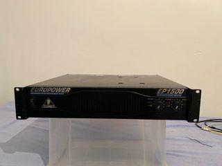 Amplificador behringer Europower EP1500
