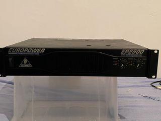 Amplificador behringer Europower EP2500
