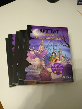 BAT PAT. Varios libros