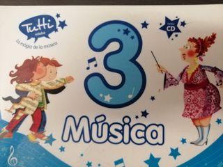 Libro Música (3° primaria)