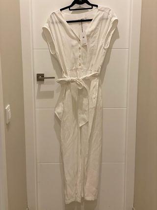 Mono blanco Zara