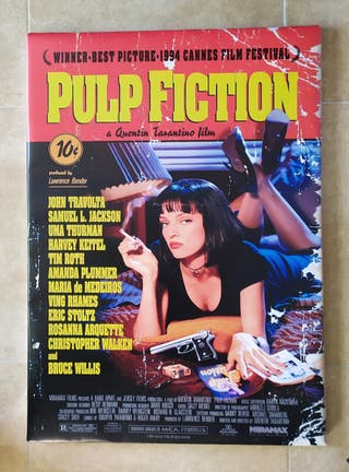 Cuadro PULP FICTION portada