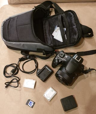 Cámara de fotos Sony Bridge 20,4 MP, Focus 50x
