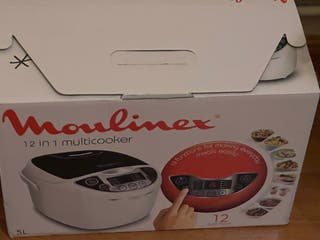 Robot cocina moulinex 12 en 1 multifunción.