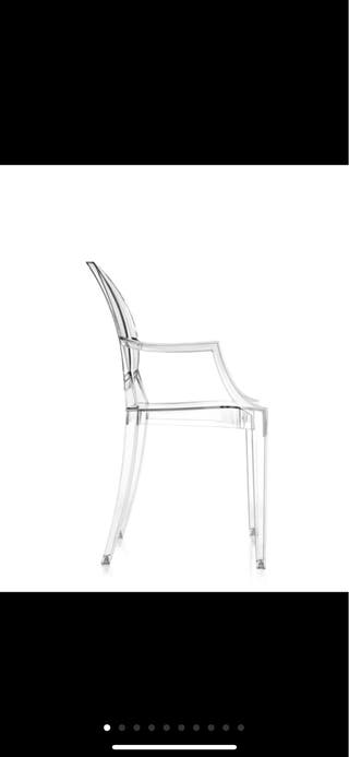 Silla louis Ghost by kartell