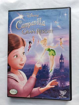 Campanilla y el gran rescate dvd