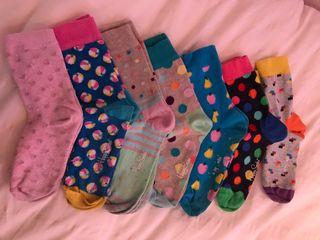 Pack de 7 calcetines T32/35 Happy Socks