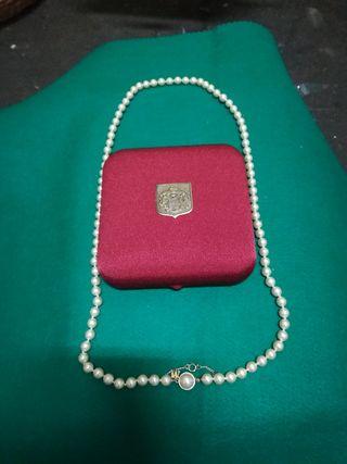set majorica perlas