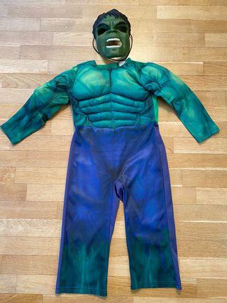 Disfraz Hulk y careta hulk