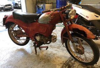Moto clasica Guzzi Hispania Zigolo 98cc