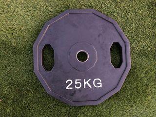 Discos pesas olímpicos de cuacho 25kg
