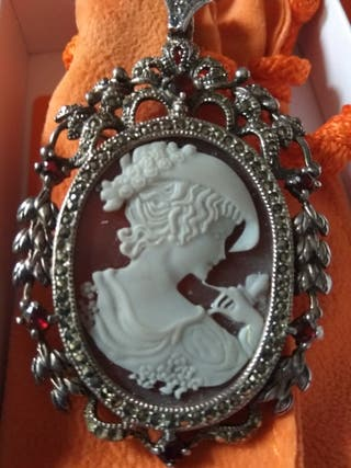 Camafeo italiano de plata 925