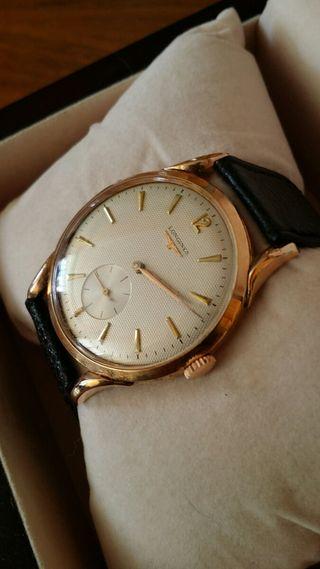 Reloj Longines Oro 18 kts Suizo