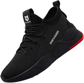 Zapatos de Seguridad Hombre con Punta de Acer
