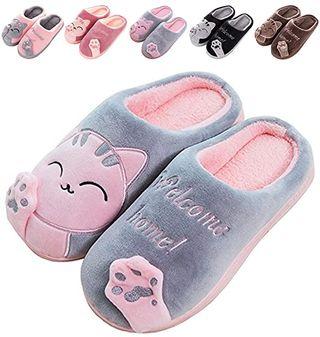 Zapatillas De Estar por Casa De Mujer Homber