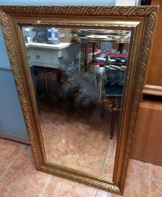 P: Espejo pan de oro