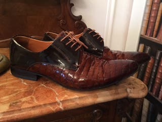 Zapatos italianos de lujo