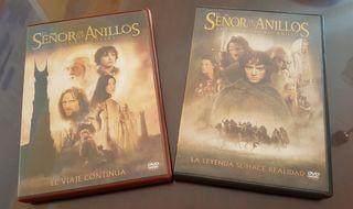 2, PELICULAS DVD, EL SEÑOR DE LOS ANILLOS