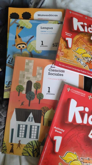 Libros 1 primero primaria