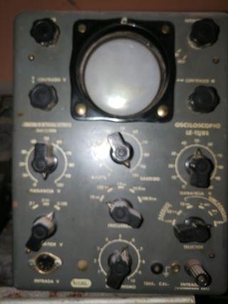 Osciloscopio de valvulas