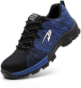 Zapatos de Seguridad Hombres Zapatos de Acero