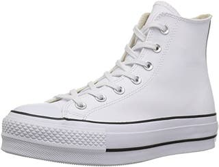 Converse CTAS Lift Clean Hi Black White Zapat