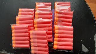 60 Dardos balas NERF MEGA
