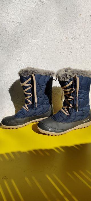 botas nieve mujer talla 38