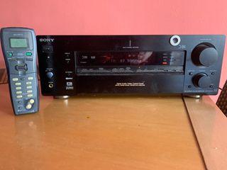 Amplificador receptor av Sony dolby digital