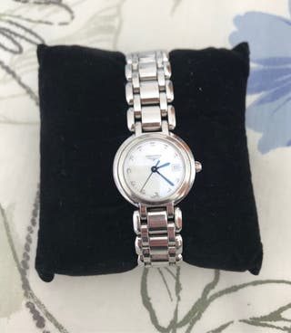 Reloj Longines con diamantes