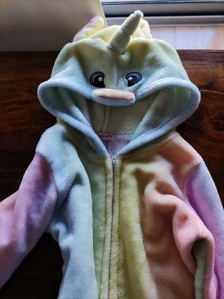 pijama/disfraz unicornio