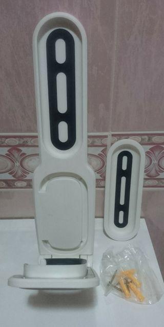 soporte de pared para monopatin electrico .