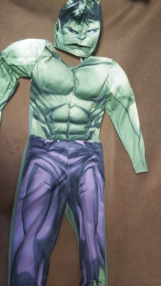 disfraz de hulk con mascara