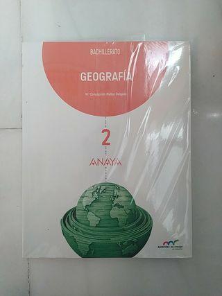 LIBRO de Geografía (2°Bachillerato ANAYA)