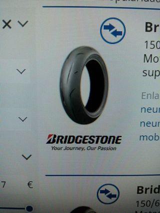 Bridgestone RS10 110/70 R17 y 150/60 R17