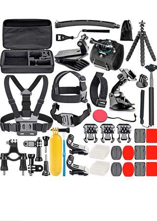 Kit accesorios para Gopro 5/6/7/8 (50 en 1)