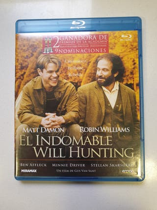 El Indomable Will Hunting bluray