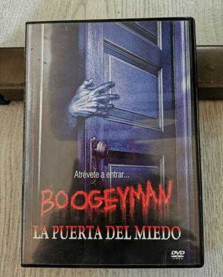 Película DVD La puerta del miedo.