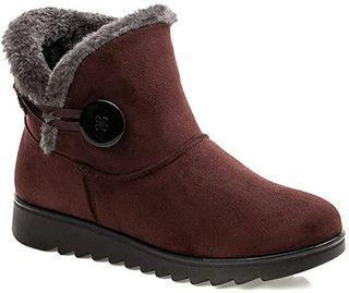 2020 Zapatos Invierno Mujer Botas de Nieve Ca