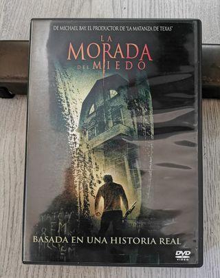 Película DVD La morada del miedo.