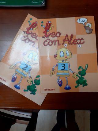 leo con alex primaria
