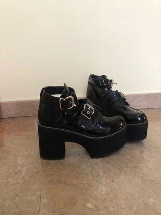 Zapatos fiesta plataforma