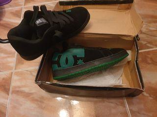 Zapatillas Dc anchas
