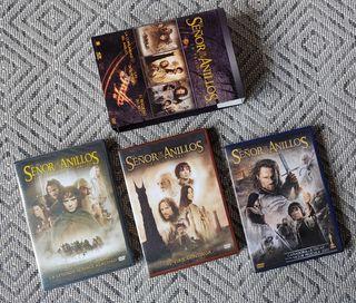 EL SEÑOR DE LOS ANILLOS. PELÍCULAS DVD (3)
