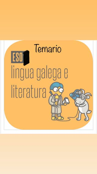 Temario Lingua Galega e Literatura