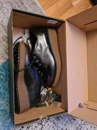 zapatos tipo oxford de timberland nuevos