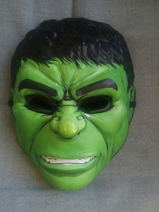 Mascara disfraz Hulk